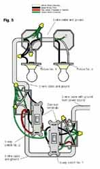 wiring5 installing a 3 way switch with wiring diagrams the home 2- Way Light Switch Wiring Diagram at readyjetset.co